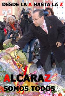 """Alcaraz no descarta una """"gran manifestación"""" contra la 'Vía Nanclares'"""